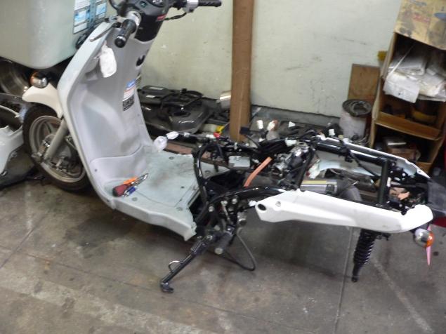 ベンリ—110エンジン