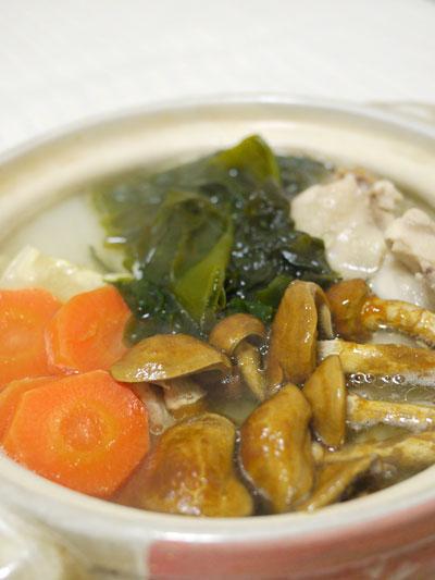 鶏の水炊き風 適当鍋