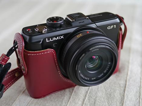 GF1ハクバ本革カメラケース