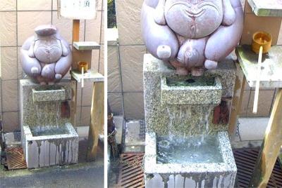 湯の街のオブジェ