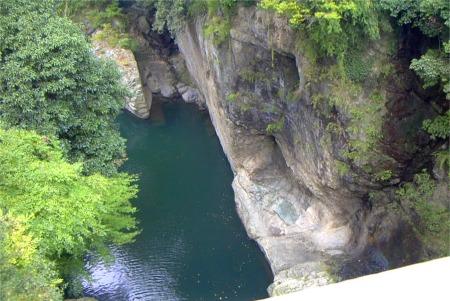 日本三奇橋 「甲斐の猿橋」
