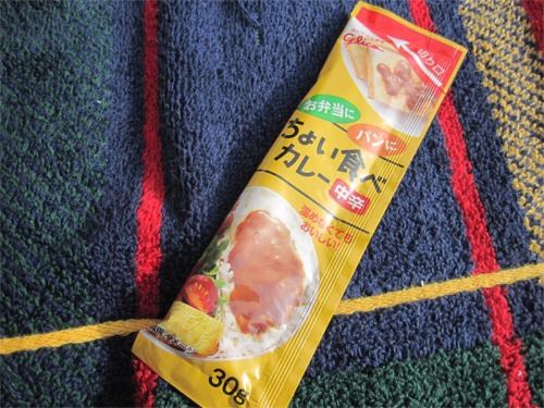グリコ ちょい食べカレー(中辛)