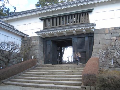 常盤木門(ときわぎもん)