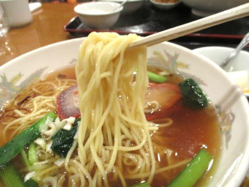横浜・中華街 蓮香園 叉焼麺のセット