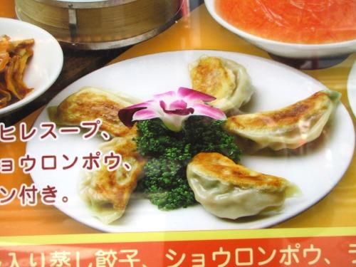 横浜中華街・品珍閣 焼き餃子