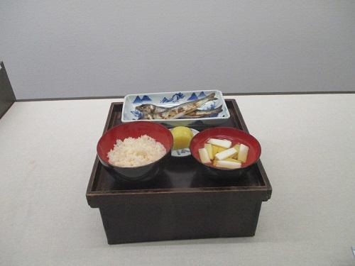 江戸東京博物館 日常の膳