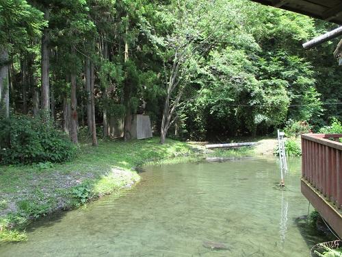 山梨県南部町の佐野川温泉