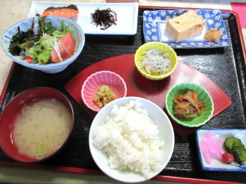 下部温泉・湯元ホテル 朝食