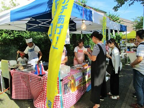 我らが上飯田ショッピングセンターの村井肉店さんも泉キャンドルナイトに出店!!