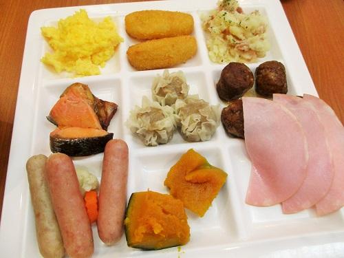 伊香保温泉 金太夫にて朝食を頂きました。