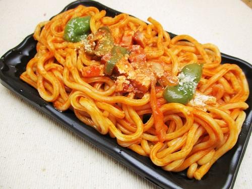 はなまるダイニングセレクト「懐かしい昭和の太麺スパゲティー」