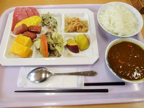 那須高雄(たかお)温泉 おおるり山荘 朝食 2018年7月