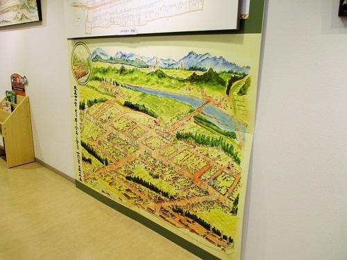 大正11年9月頃の今市全図