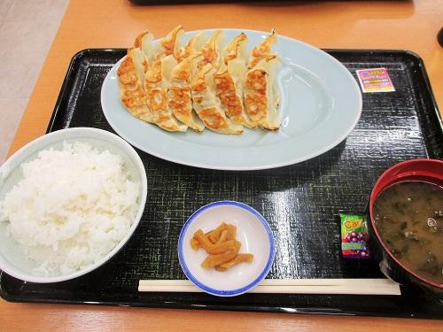 東北道 上河内サービスエリア(上り) W餃子ライス 2018年9月