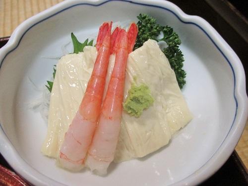 湯西川温泉 金井旅館 夕飯 2019年5月