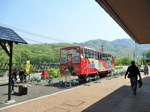 道の駅 湯西川 2019年5月