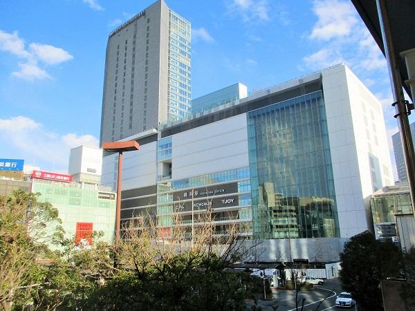 横浜駅中央西口駅前広場【2020年1月】