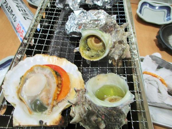 天然温泉 海辺の湯 貝焼きBBQ【2020年2月】