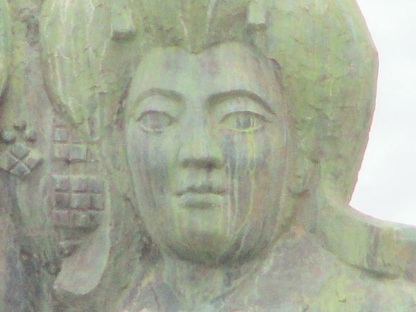八重垣姫の像【2020年7月】