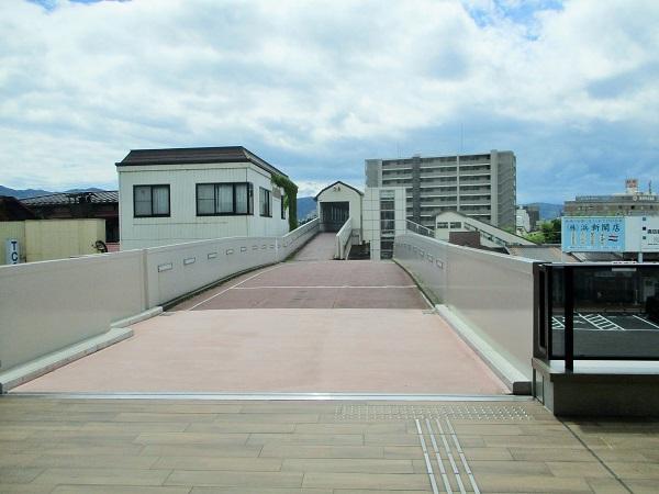 上諏訪駅・自由通路