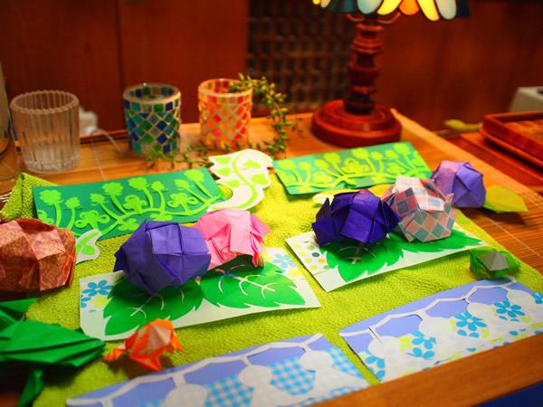 ハート 折り紙:梅雨 折り紙-1715.jugem.jp