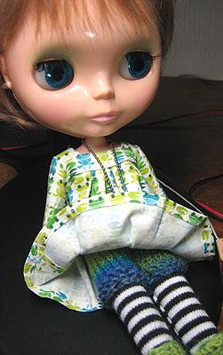毛糸のパンツも編んだよ