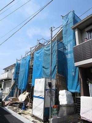 東京都 北区 不動産 トウリハウジング 志茂 借地権 車庫付 4LDK 新築戸建