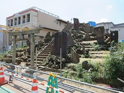 東京都北区 中十条 十条冨士塚