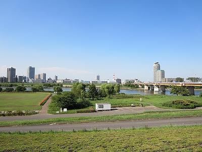 東京都北区 岩淵町 渡船場跡