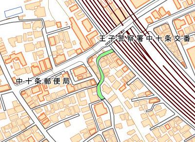 地蔵坂地図