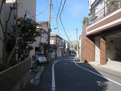 東京都北区 赤羽西4丁目 蛇坂