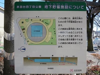 東京都北区 北区立赤羽台四丁目公園