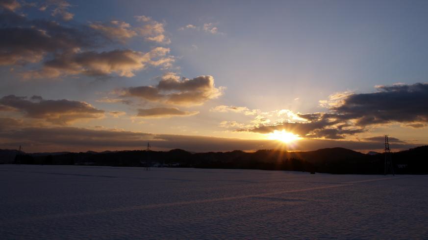 16:9の朝陽