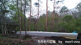 もりもり広場 もりぞう 別荘 別荘地 軽井沢 建築中 2.jpg