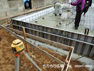 もりもり広場 基礎断熱、防湿シート施工完了8.jpg