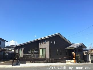 平屋完成 もりもり広場 木曾ひのきの家もりぞう 茨城1.jpg