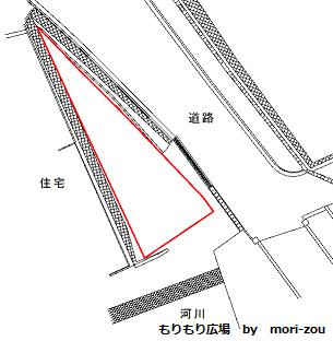 三角形土地の図面 もりもり広場.png