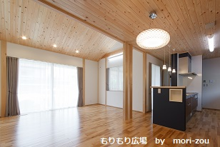 LDK思いを詰め込む木曾ひのきの家もりぞうもりもり広場ブログ.jpg