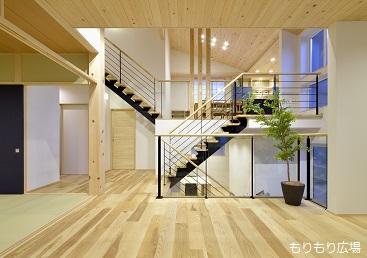 もりもり広場木曾ひのきの家もりぞう木曾ひのきの家デザイン階段がアクセントになる家2014mitaka0011.jpg