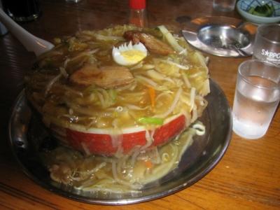 食事処 ぼんち 超特盛中華丼