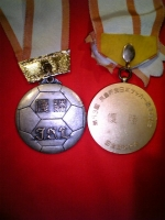 JSL 天皇杯 2冠メダル