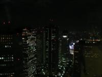 モード学園コクーンタワー(夜)
