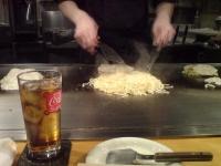 牛筋お好み焼きランチ@あす香
