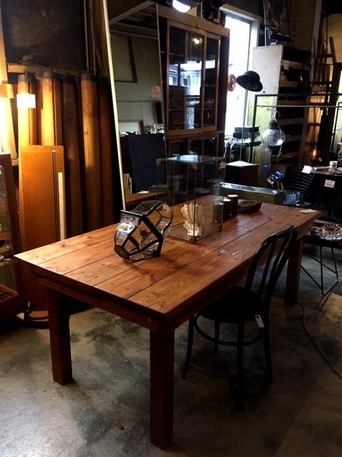 パイン材作業台