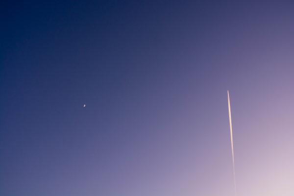飛行機雲2