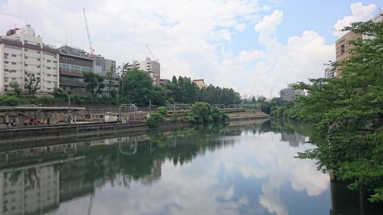 市ヶ谷 神田川