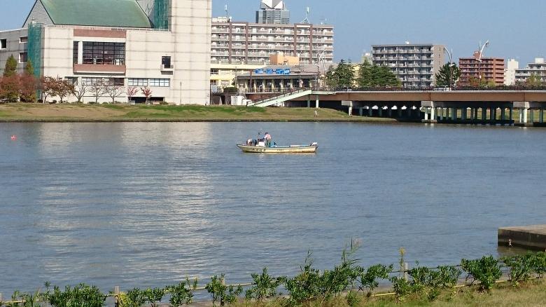 信濃川 漁
