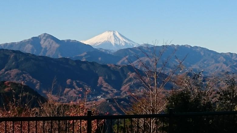 高尾山 富士山