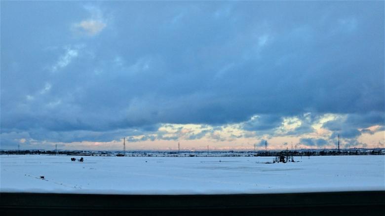 上越新幹線 冬