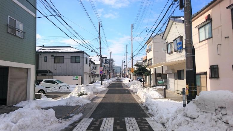 新潟市 雪